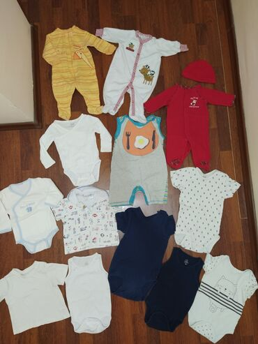 детские в Кыргызстан: Пакет вещей на малыша 0-8 месяцев. Все вместе . Вещи фирменные! В