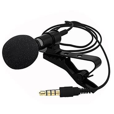 наушники-с-микрофоном-для-компьютера в Кыргызстан: Петличный микрофон для телефона, ноутбук, компьютера! Petlichnyi Качес