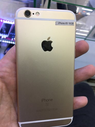 Iphone 6s gold 16gb 16000c  в Бишкек