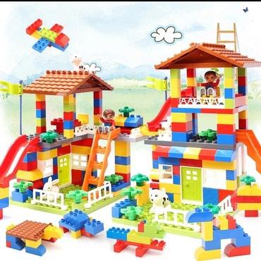 KOCKE kompatibilne sa Lego duplo kockama i njihova su odlična - Nis