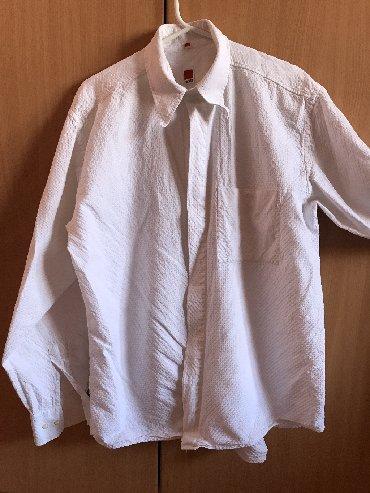Masina za meso - Senta: Bela košulja za muškarce
