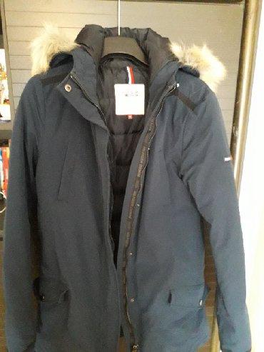 Tommy hilfiger jakne - Srbija: Original Tommy Hilfinger jakna, teget, velicina M. Jednom obucena, ne