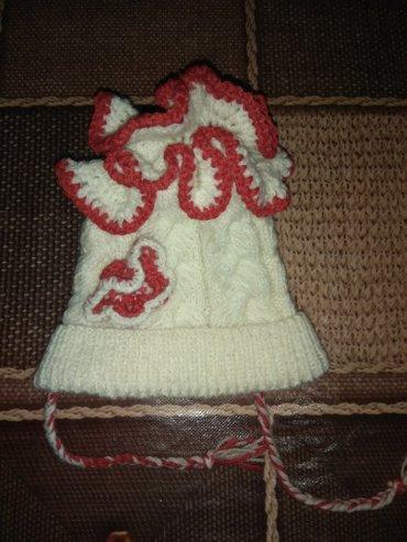 Вязанные детские шапочки на заказ! в Ош