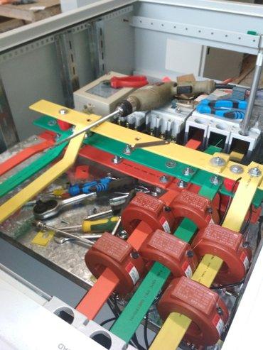 Услуги электрика делаем все виды в Чолпон-Ате
