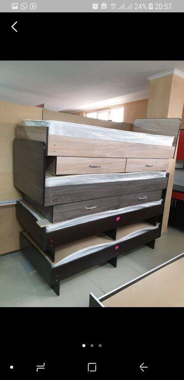 Односпалный кровать из российского ламинанта