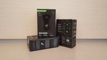 Bakı şəhərində Razer deathadder chroma (new with box) gaming mouse