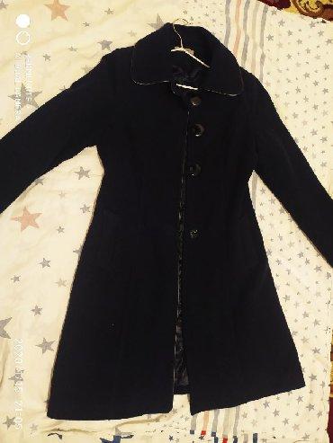 приталенное пальто в Кыргызстан: Пальто приталенное на холодную осень-весну или на теплую зиму
