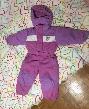 Skafander-za-decu - Srbija: Skafander za devojcice.Nosen jedne sezone, samo 7 dana na zimovanju