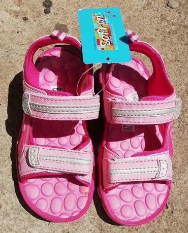 | Kula: Nove sandale za devojcicu br 28, unutrasnje gaziate 18,5 cm. Cena 500
