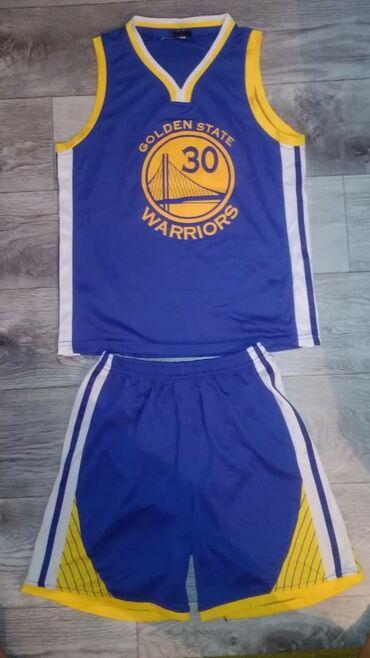 Мужская одежда - Кара-Балта: Срочно продаю Баскетбольную форму CURRY 30.Размер 46-48Очень хороший