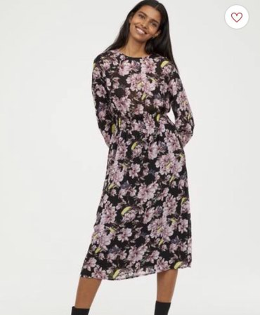 Платье новое H&M. Размер S. Шифон. 2500сом в Бишкек