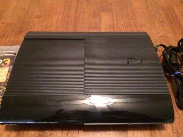 Bakı şəhərində Playstation super slim yaddasi 500GB. Yaddasinda 20 oyun var. Ev serai