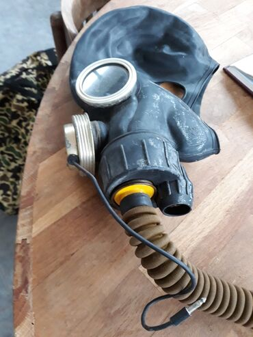 327 elan | OVÇULUQ VƏ BALIQÇILIQ: Противодымная маска с микрофоном
