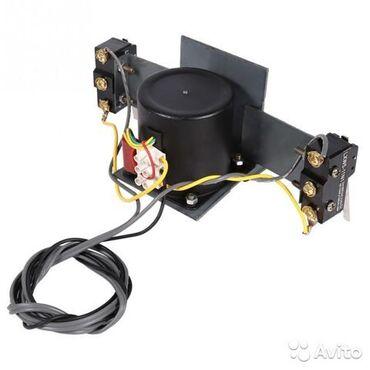 Мотор для инкубатора с концевиками 220В тип 2  С помощью данного компл