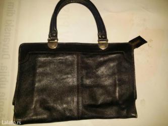Kvalitetna kožna torba - Crvenka