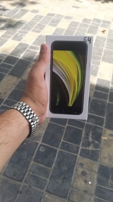 apple iphone se - Azərbaycan: Yeni iPhone SE 64 GB Qara