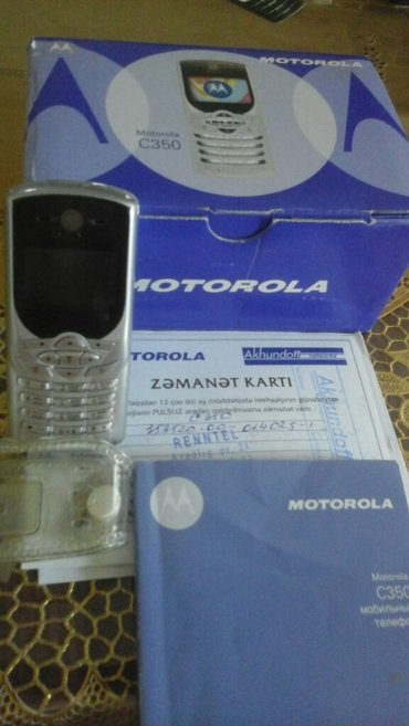 Motorola e1120 - Azerbejdžan: Motorola c350