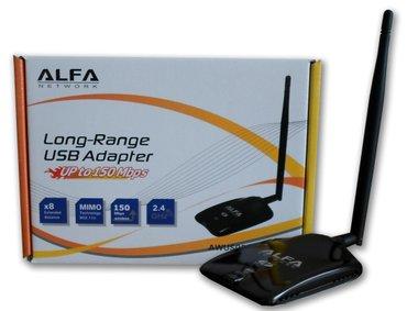 Bakı şəhərində Новый WiFi адаптер Alfa AWUS036NHA  Характеристики: wireless: ieee