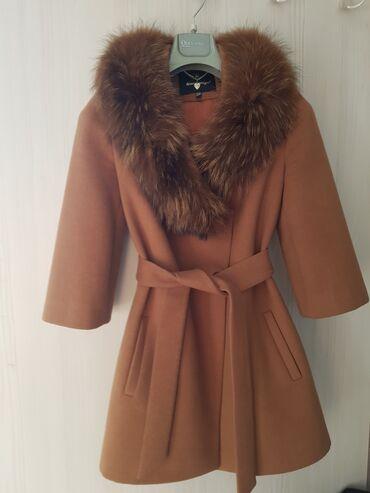 Продаю зимнее кашемировое пальто, пр-во Турция, р 36 в отличном