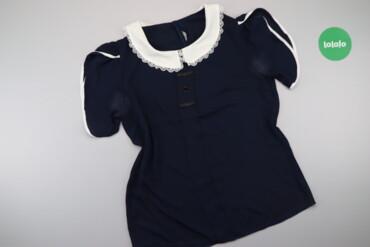 Жіноча блуза з мереживним коміром    Довжина: 65 см Ширина плечей: 38