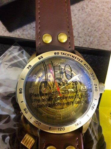 Продам муж механические часы,товар новыйнержавеющая сталь,кожаный ре в Бишкек