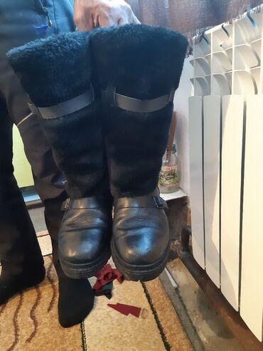 сапоги мужские в Кыргызстан: Продаю мужские сапоги 43 размера сшитый на заказ очень теплые из