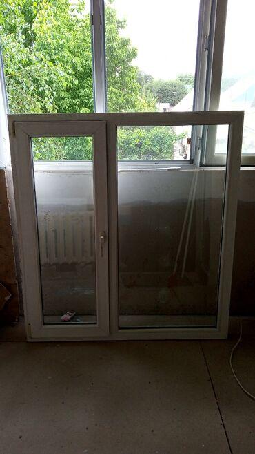 Продаю пластиковое окно размер ширина 1.3м высота 1.4м