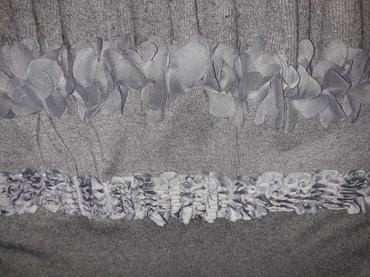 Trikotazna,interesantna suknja....struk 36 cm,duz.54 cm. - Smederevo - slika 2