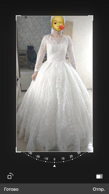 Продаю срочно свадебное платье два раза одевала