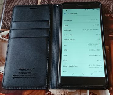 Huawei Mate 9 Duos - 64gb - 4gb Ram - 20mpx+12mpx+8mpx +poklon - Beocin