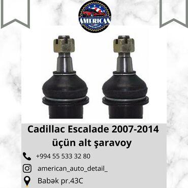 Cadillac Escalade 2007-2014 üçün Alt Şaravoy.Qiymət 90 AZN.Ehtiyat
