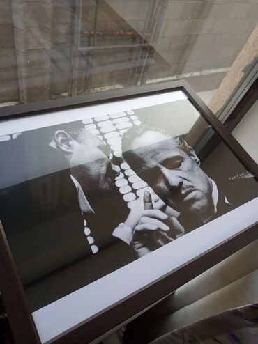 Картины на А3 толстый глянцевый с готовой стеклянной рамкой