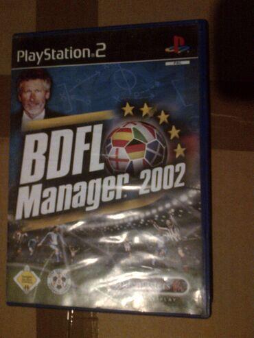 PS2 & PS1 (Sony PlayStation 2 & 1) | Srbija: BDF MANAGER 2002=playStation 2=ispravne su testirane juce stigle iz