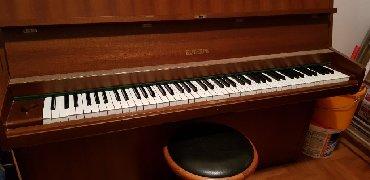 Klavir - Srbija: Prodajem klavir nemacke marke Euterpe 1975. godiste u dobrom stanju
