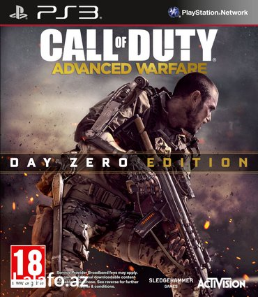 Bakı şəhərində PS3 Call of Duty: Advanced WarfareBlur