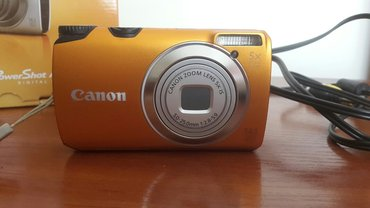 фотоаппарат Canon PowerShot A3200 IS.  14.1 mega pixels, 5-ти кратный  в Бишкек