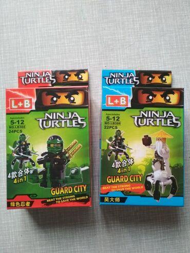 Лего нинзя два штуки новые!!!цена за два 150 сом