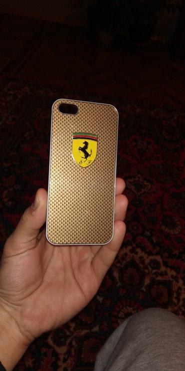 чехол в Азербайджан: Чехол Феррари для айфонов 5, 5S, 5C и SE. Использованный, но в хорошем