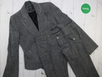 Женский костюм пиджак и брюки Monica Ricci, р. L    Брюки: длина- 100