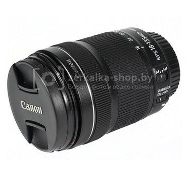 объектив canon 18-135mm is stm, бесшумный мотор для съёмки видео, и бо в Бишкек