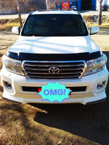 Toyota Land Cruiser 2010 в Каракол
