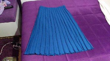 Suknja-duzina - Srbija: Plisirana suknja, velicina M. Duzina suknje 78