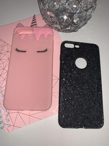 Mobilni telefoni | Subotica: Maskice za Iphone 8+, roza 600, crna 350