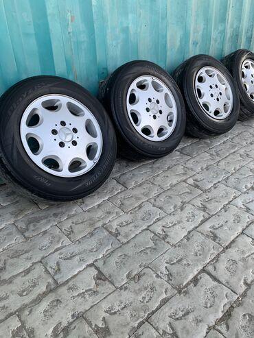 шина 205 65 r15 в Кыргызстан: Mercedes-Benz ромашка R15 с летней резиной 205/65/15 Bridgestone Цена