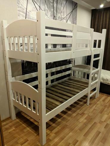 Двуспальные кровати - Кыргызстан: Кровать двухяростный. из дерева. на заказ любые размеры