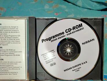 Продаю два диска в оригинале на nissan с программным обеспечением!