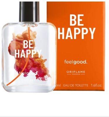 Вдохновляющая туалетная вода be happy oriflame