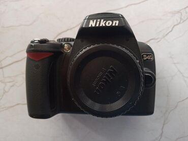 Nikon d40 tәk body әlavә hecnәyi yoxdur satılır ehtiyat hissәsi
