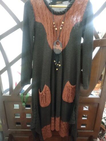 платье в стиле бохо в Кыргызстан: Теплое,удобное платье в стиле БОХО