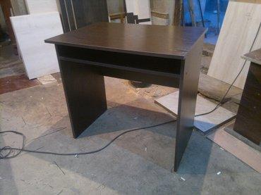 Новые письменные столы, по цене матерьяла! СВЕТЛЫЙ СТОЛ высота 77см, д в Бишкек